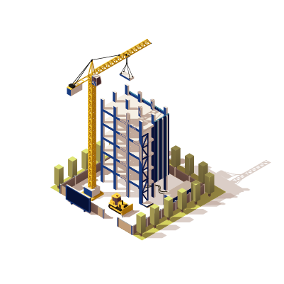 Desenho de construtoras